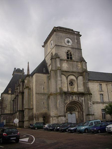 Saint Michael abbey church of Saint-Mihiel (Meuse, France)
