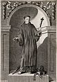 Saint John of God (?). Engraving. Wellcome V0033240.jpg