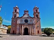 Saint John the Baptist Church, Sultepec, Mexico state, Mexico.jpg