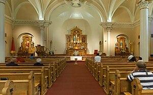 St. Mary's Basilica (Phoenix) - Image: Saint Mary's Basilica Altar