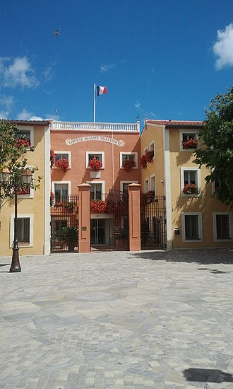 Sainte-Marie-la-Mer - The Town Hall