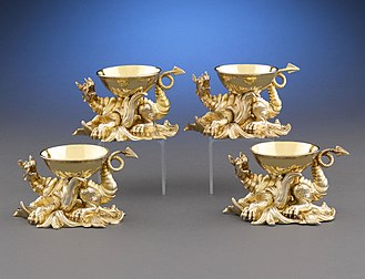 Garrard & Co - Image: Salt Cellars by R. & S. Garrard