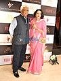 Samarjitsinh Gaekwad with his wife Radhikaraje.jpg