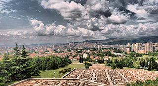 Stara Zagora City in Bulgaria