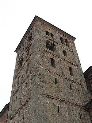 San Benigno Canavese-Torre dell'Abbazia della Fruttuaria