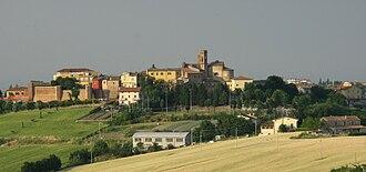 San Clemente, Emilia-Romagna - Image: San Clemente panorama