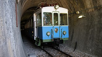Transport in San Marino - Preserved section of the San Marino railway