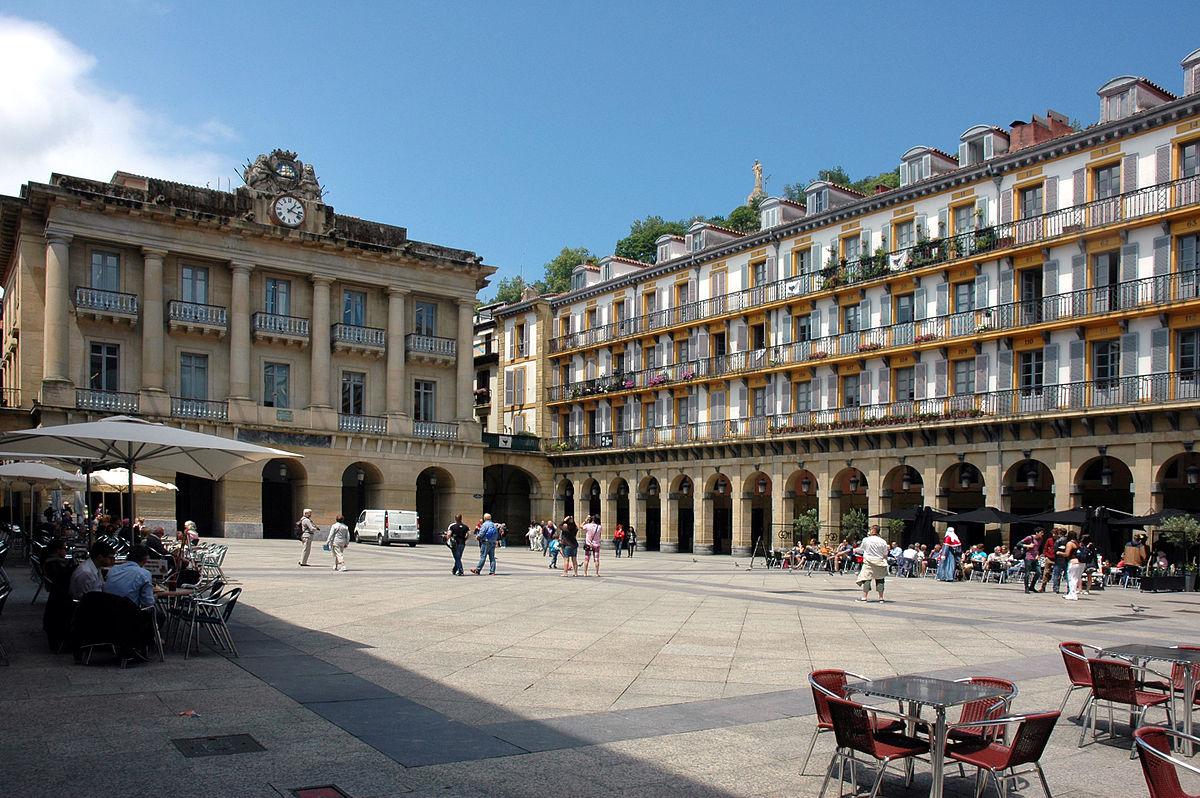 Plaza de la Constitución (San Sebastián) - Wikipedia, la enciclopedia libre