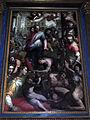 San bartolomeo a monte oliveto, int., altare maggiore, cristo e l'emorroissa del poppi 03.JPG