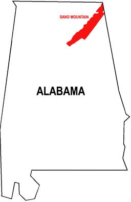 Sand Mountain Alabama  Wikipedia