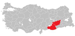 Şanlıurfa Subregion Subregion in Southeast Anatolia, Turkey