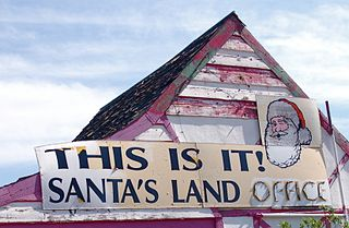 Santa Claus, Arizona Ghost town in Arizona, United States