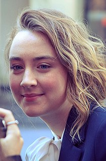 Saoirse Ronan American-born Irish actress
