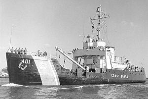 USCGC Sassafras (WLB-401) - USCGC Sassafras 1967
