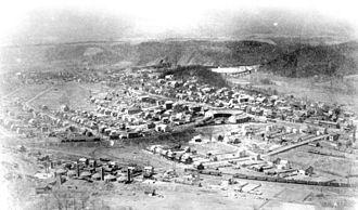 Saxton, Pennsylvania - Saxton around 1900