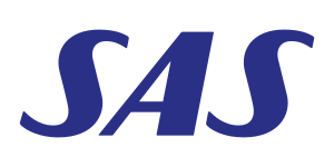 English: Logo of Scandinavian Airlines
