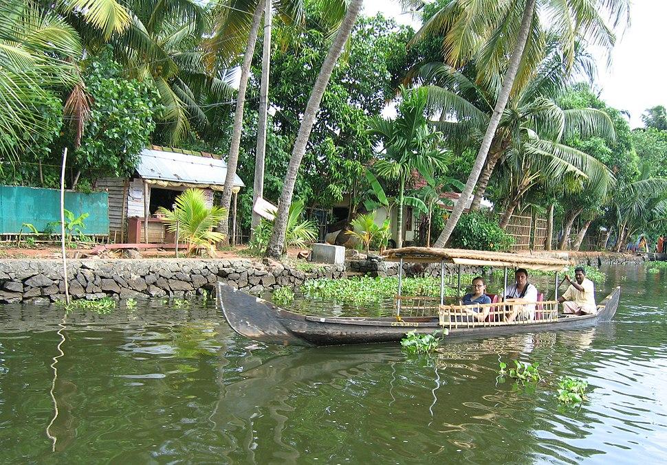Scenes fom Vembanad lake en route Alappuzha Kottayam132