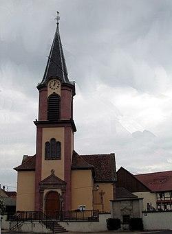 Schaeffersheim, Église Saint-Léger.jpg