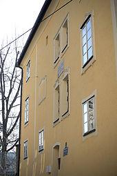Schanzlgasse 14 Alexander von Humboldt-Gedenktafel Salzburg 2014 c.jpg