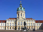 Schloss Charlottenburg is the largest existing palace in Berlin.