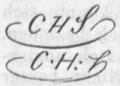Schmolze Carl Herm Monogramm CHS Nagler II 197.png