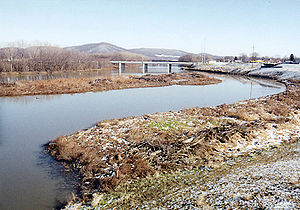 Chillicothe, Ohio - The Scioto River at Chillicothe in 2003