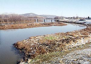 Scioto River - The Scioto River at Chillicothe