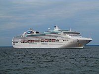 Sea Princess departing Tallinn - Port of Tallinn 3 July 2016.jpg