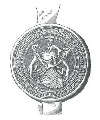 Henry Percy, 3rd Earl of Northumberland - Image: Seal of Henry Percy, 3rd Earl of Northumberland in 1435