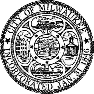 Seal of Milwaukee - Official Seal of the City of Milwaukee.
