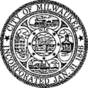Seal of Milwaukee, Wisconsin (B&W).png