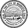 Official seal of Modesto, California, USA