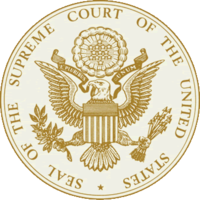 Seal of the United States Supreme Court.
