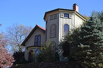 Barnas Sears - Sears' house in Staunton