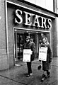 Sears Roebuck employees on strike against unfair labor practices, March 15, 1967. (5279693130).jpg