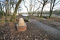 Seat by Path in Stanley Park - geograph.org.uk - 1155670.jpg