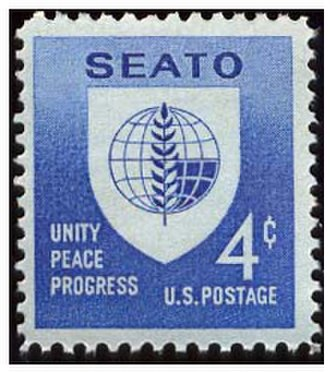 Southeast Asia Treaty Organization - A 1960 U.S. Postage Stamp for SEATO