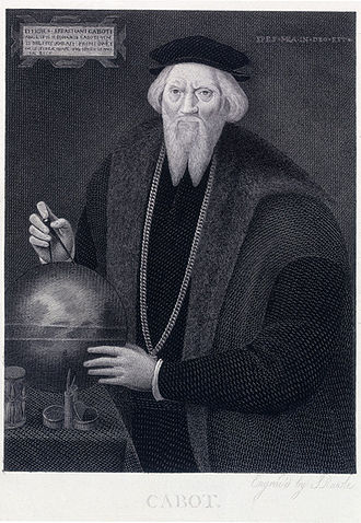 Sebastian Cabot (explorer) - Image: Sebastian Cabot S. Rawle after Hans Holbein, 1824