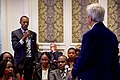 Secretary Kerry Takes a Question From a man as He Meets With 50 Kenyan Young African Leader Initiative Mandela Washington Fellows and of the YALI Regional Leadership Center for East Africa in Nairobi (29123649896).jpg