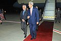 Secretary Kerry Walks With Special Envoy Indyk After Arriving in Tel Aviv (10695159205).jpg