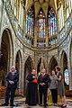 Secretary Pompeo Tours St. Wenceslas Chapel in Prague (50219182653).jpg