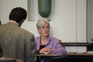 Secretary Sebelius at Gates Foundation Polio M...