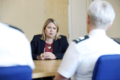 Secretary of State Karen Bradley MP met PSNI at PSNI Strand Road to pay tribute and acknowledge their efforts in dealing with recent challenging circumstances in the city (43801319561).png