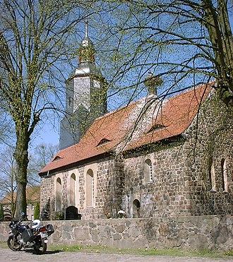 Niedergörsdorf - Image: Seehausen Church