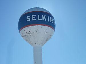 Selkirk, Manitoba - Selkirk water tower