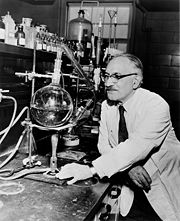 Prof. Selman A. Waksman (B.Sc. 1915), who was awarded the Nobel Prize in Medicine for developing 22 antibiotics—most notably Streptomycin—in his laboratory at Rutgers University.