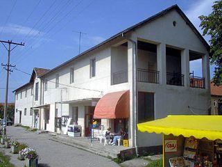 Moravac Place in Serbia