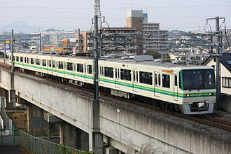 Sendai Subway Namboku Line - Image: Sendai subway 1014 20081021