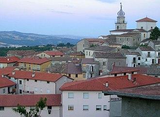 Sepino - Image: Sepino rooftops