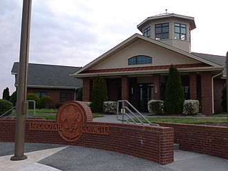 Scouting in Tennessee - Council office in Johnson City
